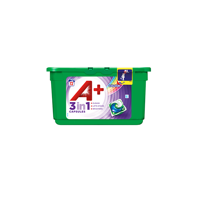 Embalagem A+ Cápsulas Color & Style 12 Doses