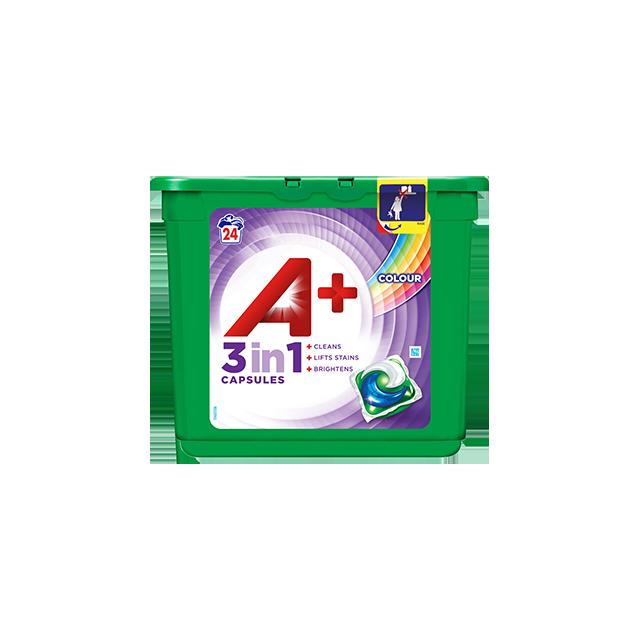 Embalagem A+ Cápsulas Color & Style 24 Doses