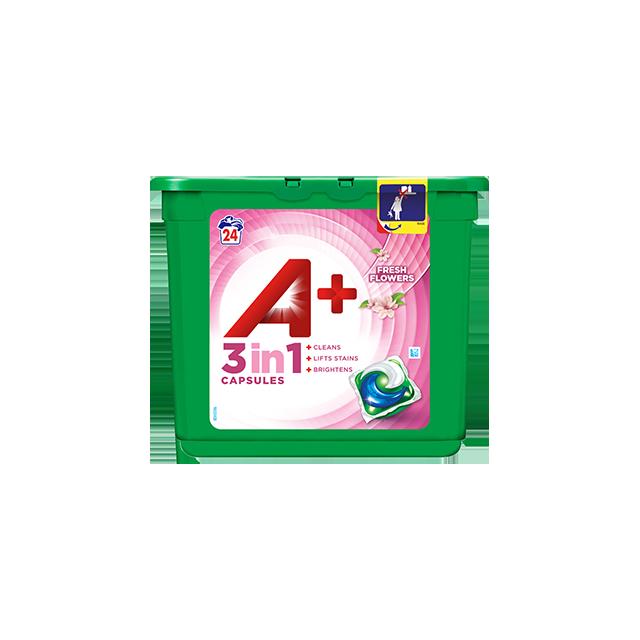 Embalagem A+ Cápsulas Fresh Flowers 24 Doses
