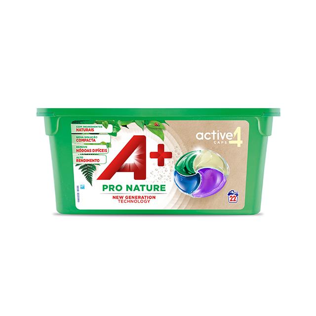 A+ Active4 Caps Pro Nature - Embalagem 22 lavagens