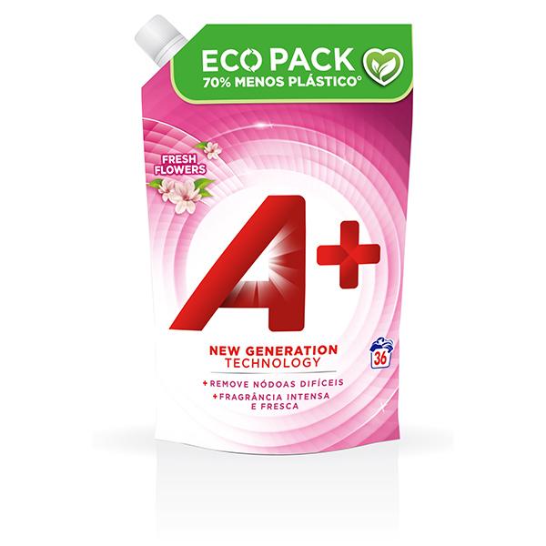 A+ Ecopack Fresh Flowers - Embalagem 36 lavagens
