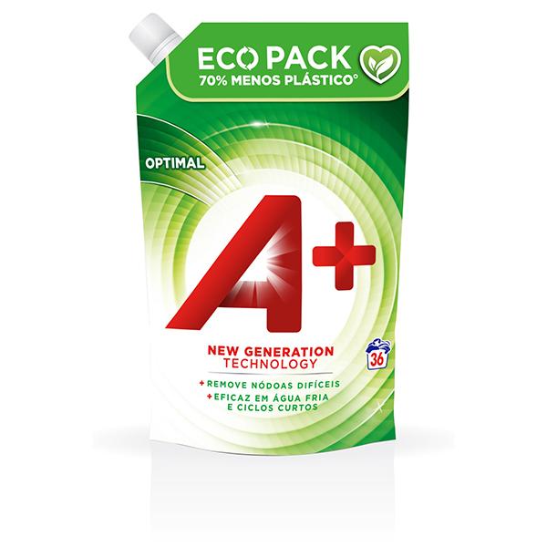 A+ Ecopack Optimal - Embalagem 36 lavagens