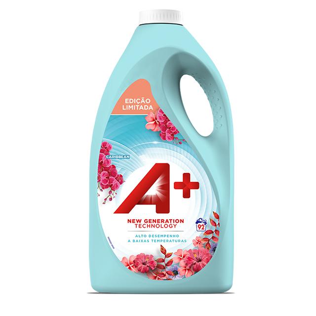 A+ Caribbean Líquido - Embalagem 92 lavagens