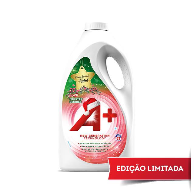 Embalagem A+ Líquido Frosted Berries 92 doses