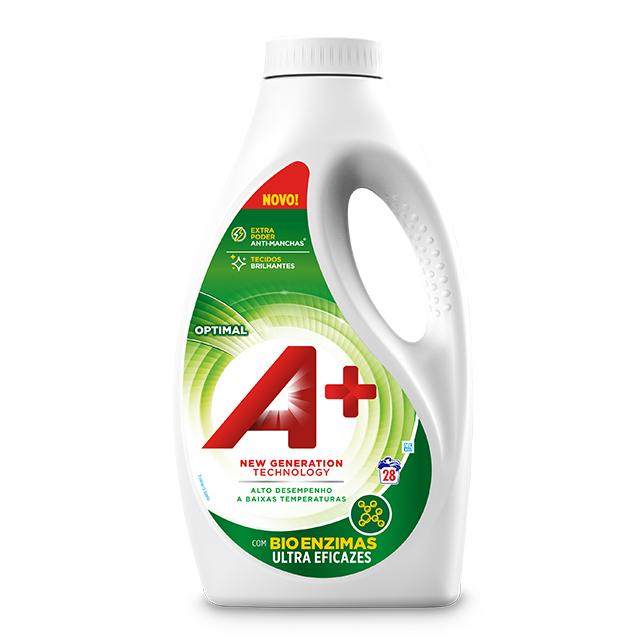 A+ Líquido Optimal - Embalagem para 28 lavagens