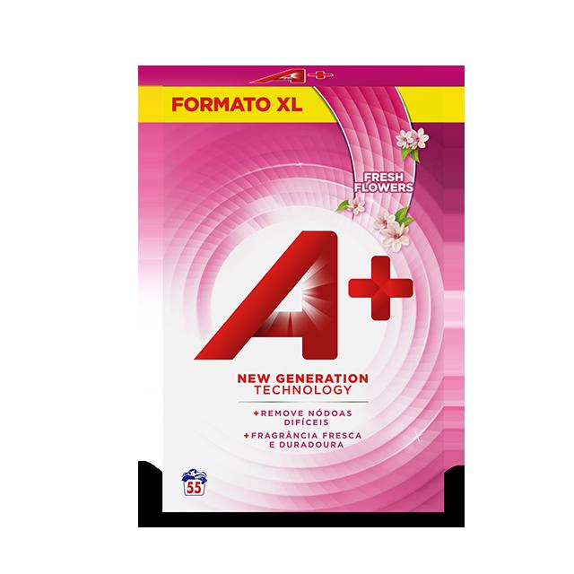 Embalagem A+ Pó Fresh fresh-flowers 55 Doses