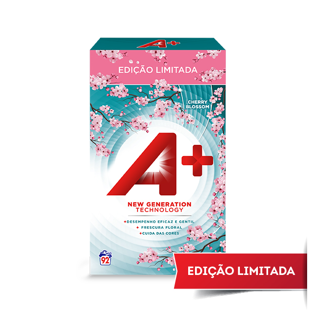 A+ Cherry Blossom - Embalagem para 92 lavagens