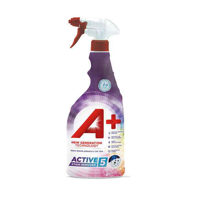 A+ Spray Active5 Stain Remover 750ml
